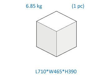 Box dimension and weight
