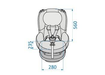 Tobi front dimensions